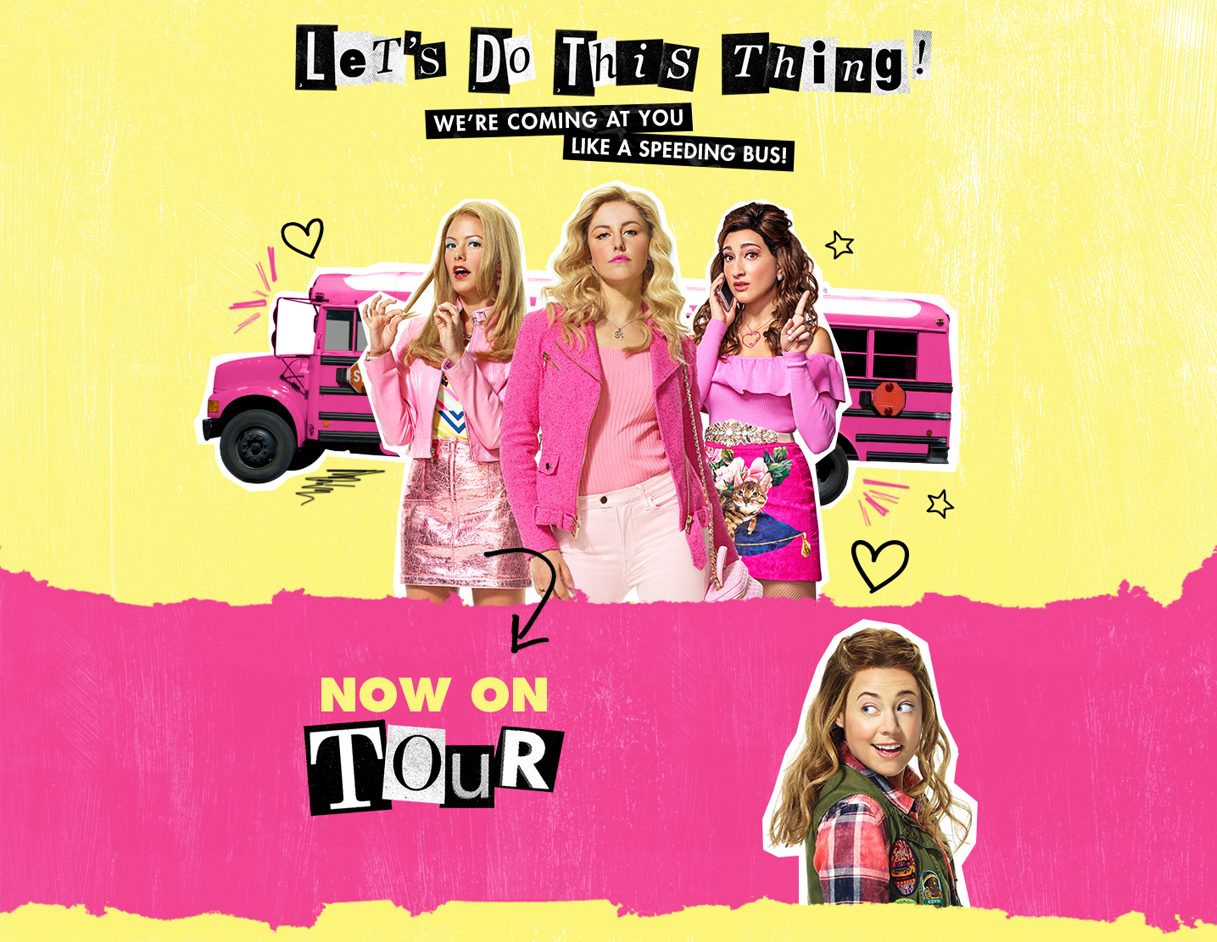 Tour | MEAN GIRLS | Official Broadway Site